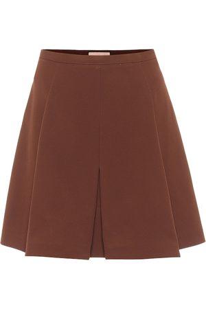 Plan C Minifalda plisada de tiro alto