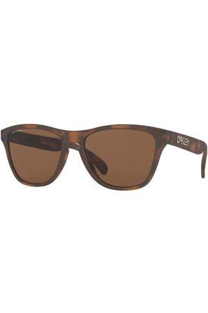 Oakley Hombre Gafas de sol - OJ9006 Frogskins XS 900616 Matte Brown Tortoise