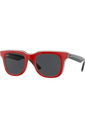 Ray-Ban RB4368 652087 RED White Black