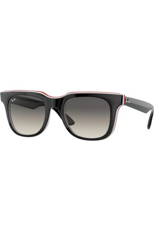 Ray-Ban Gafas de sol - RB4368 651811 Black White RED