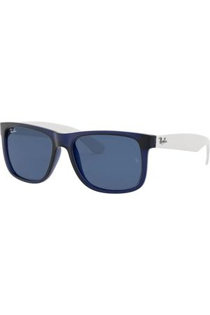 Ray-Ban RB4165 Justin 651180 Rubber Transparent Blue