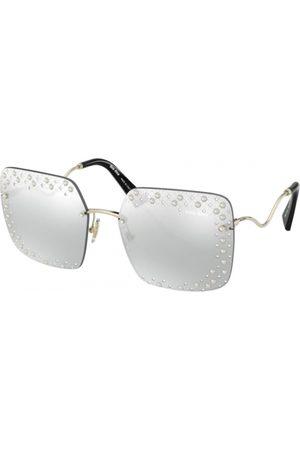 Miu Miu Mujer Gafas de sol - MU 52XS Core Collection 06O1I2 Pale Gold