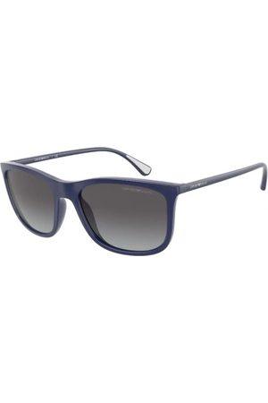Emporio Armani Gafas de sol - EA4155 50888G Matte Blue