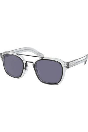 Prada Gafas de sol - PR 07WS 04L420 Black/White/Grey