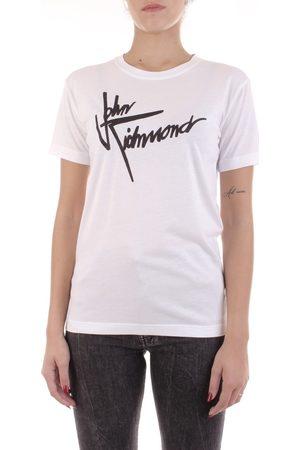John Richmond Mujer Camisetas - Camiseta RWA20384TS para mujer
