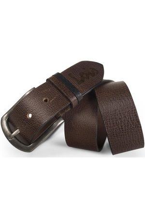 Lois Hombre Cinturones - Cinturón Cinturón para hombre de piel genuina de la firma para hombre