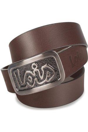 Lois Cinturón Cinturón para hombre de piel genuina de la firma para hombre