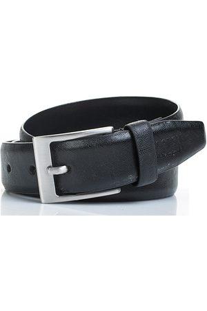 Jaslen Cinturón Cinturón unisex de cuero piel genuina de la firma para mujer