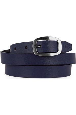 Lois Cinturón Cinturón unisex de piel genuina de la firma para mujer