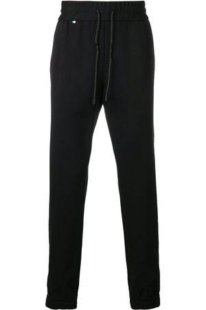 Philipp Plein Pantalones de chándal de cierre con cordón