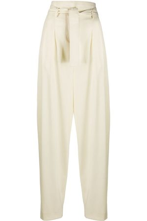 WANDERING Pantalones tapered holgados
