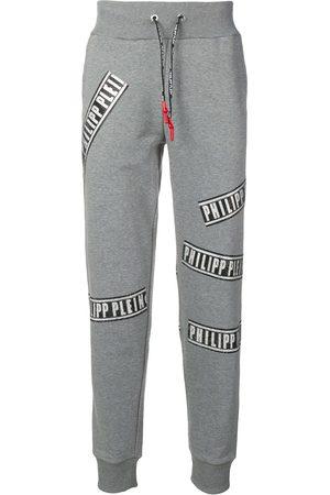 Philipp Plein Pantalones de chándal con logo