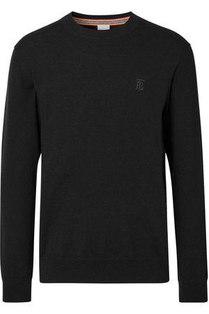 Burberry Hombre Jerséis y suéteres - Jersey con monograma bordado