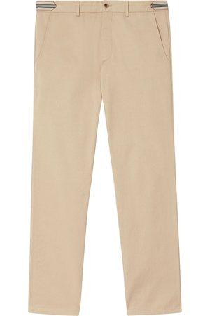 Burberry Pantalones chinos con rayas
