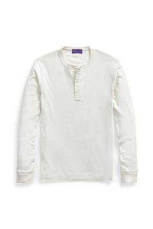 Purple Label Camisa Henley interlock