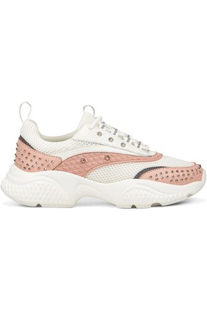 ED HARDY Zapatillas Scale runner-stud white/pink para mujer