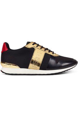 ED HARDY Zapatillas Mono runner-metallic black/gold para mujer