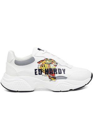 ED HARDY Mujer Zapatillas deportivas - Zapatillas Insert runner-tiger-white/multi para mujer