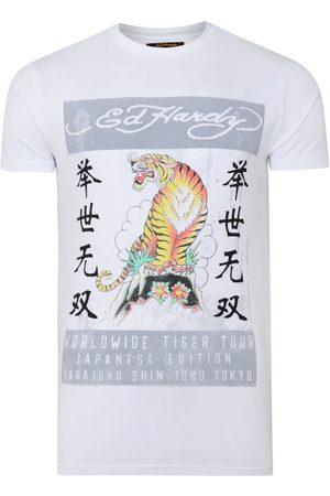 ED HARDY Tops y Camisetas Mt-tiger t-shirt para mujer