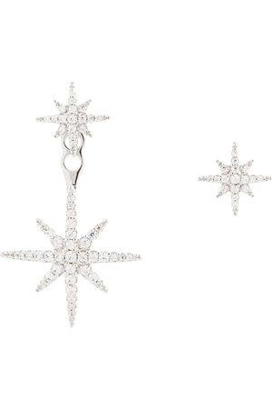 APM Monaco Mujer Pendientes - Pendientes asimétricos con diseño de estrellas