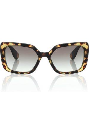 Miu Miu Gafas de sol cuadradas de acetato