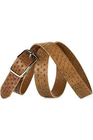 Jaslen Cinturón Cinturón unisex de piel genuina de la firma para mujer
