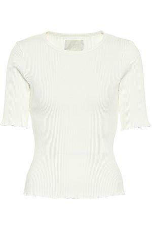 Citizens of Humanity Camiseta Annie de algodón acanalada
