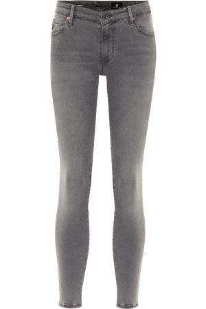 AG Jeans Jeans skinny de tiro medio