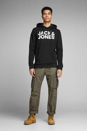 Jack & Jones Sudadera sostenible logotipo