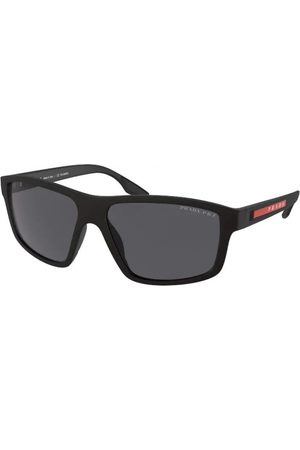 Prada Linea Rossa PS 02XS DG002G Black Rubber