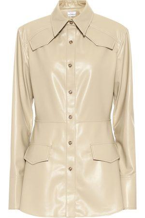 Deveaux New York Mujer Blazers - Blazer Sierra de piel sintética