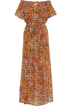 ANNA KOSTUROVA Exclusivo en Mytheresa – vestido largo de seda estampado