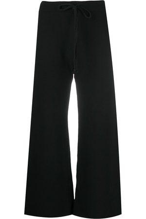NILI LOTAN Pantalones de chándal capri con cordones