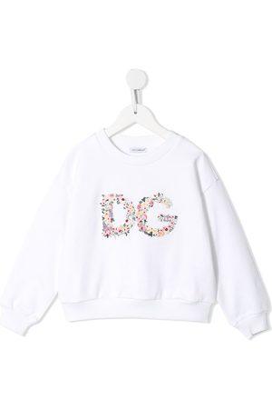 Dolce & Gabbana Sudadera con logo floral