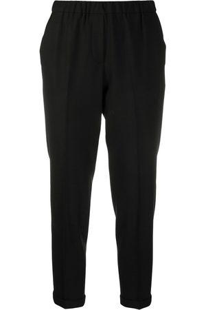 ANTONELLI Pantalones capri con cinturilla elástica
