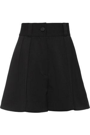 Miu Miu Shorts de vestir de talle alto