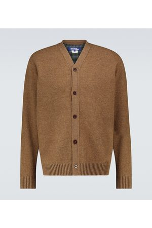 JUNYA WATANABE Cárdigan de lana con cuello en V