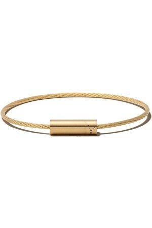 Le Gramme Pulsera con logo 11 Grammes Cable en oro de 18 kt