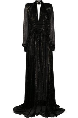 Philipp Plein Mujer De noche - Vestido largo con detalles de strass