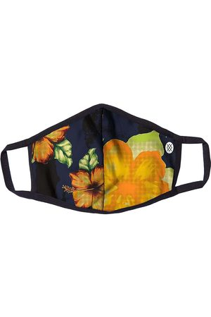Stance Accesorios - Hibiscus Smear Cloth Mask azul