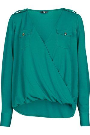 Guess Mujer Blusas - Blusa SALLY CREPE TOP para mujer