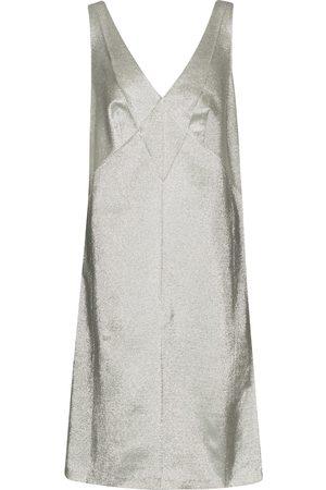 Marc Jacobs Vestido corto de gabardina y lamé