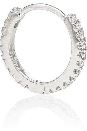 Maria Tash Argolla única Eternity de oro de 18 ct con diamantes