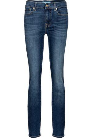 7 for all Mankind Jeans ajustados Roxanne tiro medio