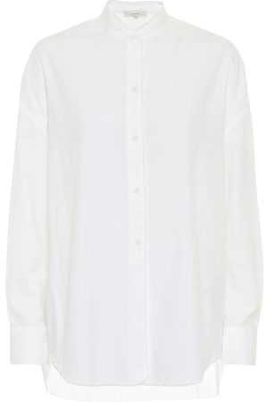Vince Camisa de popelín mezcla de algodón