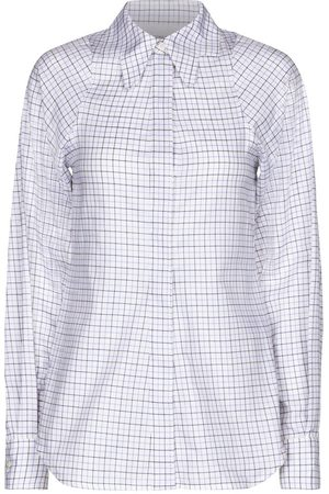 Victoria Beckham Camisa de sarga de algodón