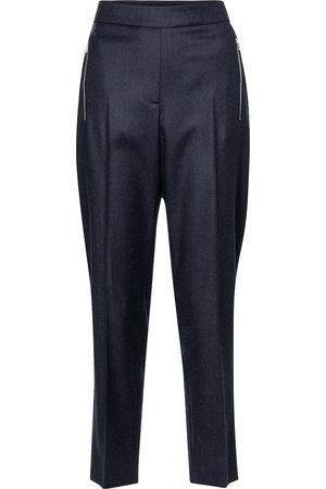 Stella McCartney Pantalones Claire de lana cropped