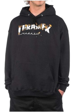 Thrasher Jersey BURNER-BLK para hombre