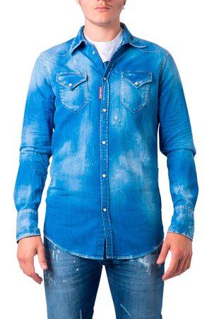 Dsquared2 Camisa manga larga S74DM0301 para hombre