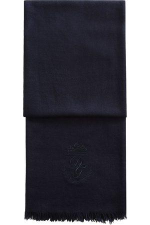 Dolce & Gabbana Bufanda con logo bordado